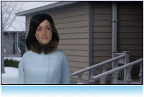 3D  photo-realistic human characters, SnowJoe Television Advertising, 30 second animation Commercial