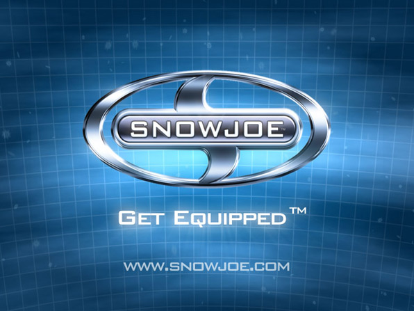 logo animation in nationwide 3d animated tv commercial for SnowJoe