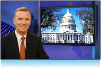 virtual news set 2008 presidential election 3d studio tv hdtv America Votes candidate
