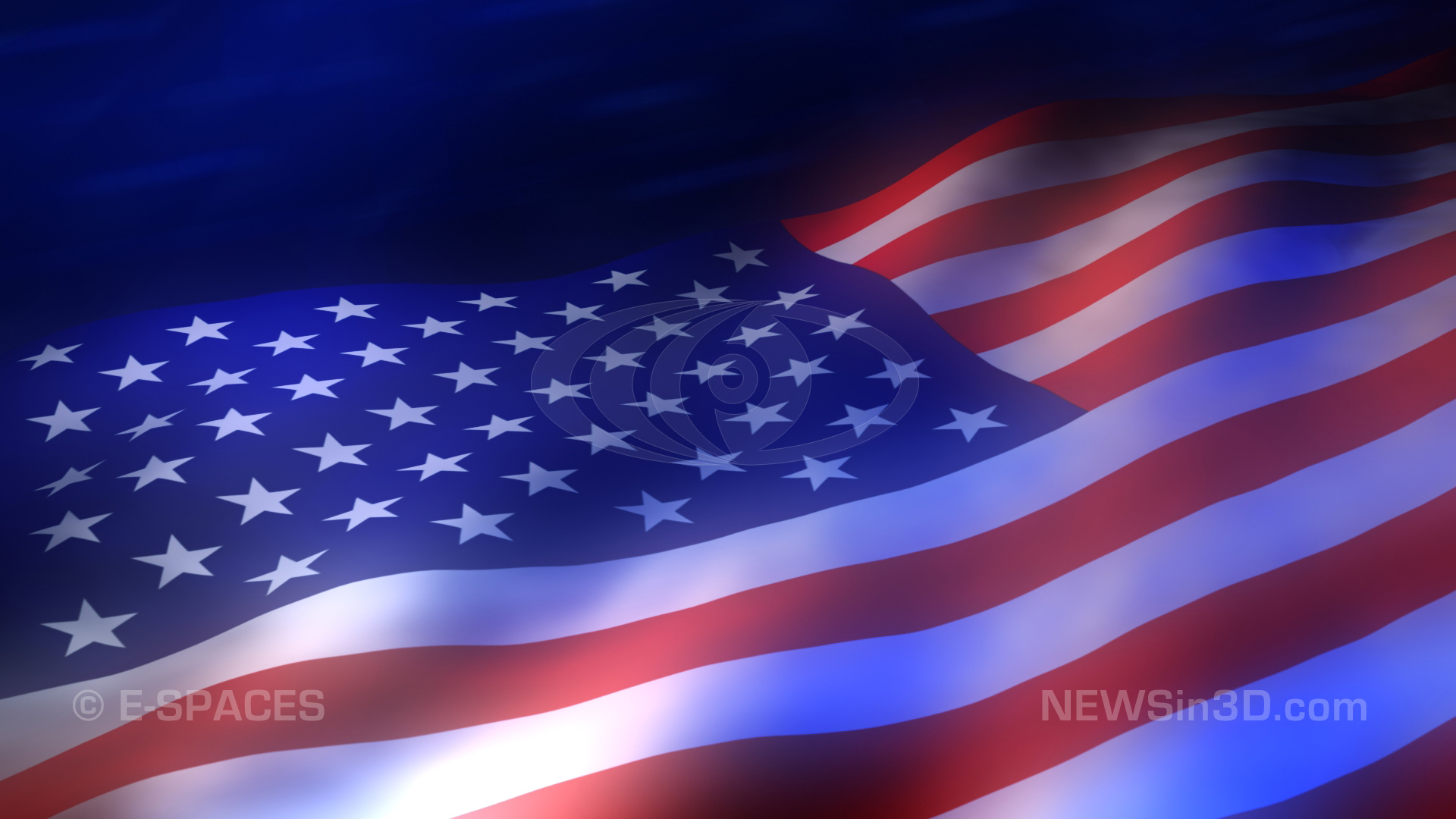 Active Desktop Wallpaper American Flag