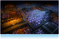 Gleaming grids seamless looping 3d  backgrounds animation for video computer generated modeling NTSC PAL Hi Def