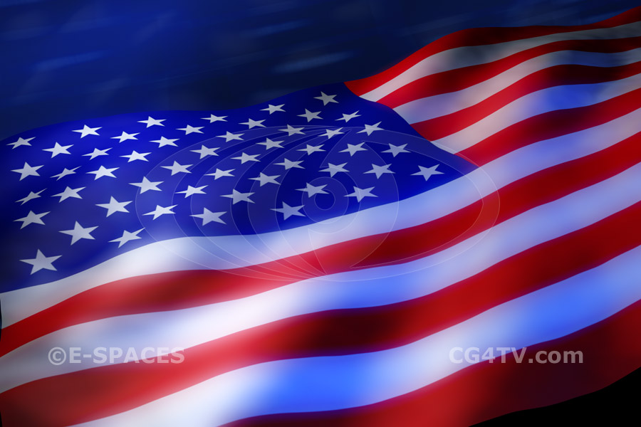 American US Flag High Resolution Image