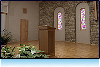 Classic Church Virtual Set