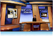 News Virtual Set Studio