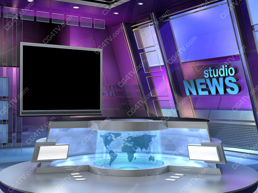 News Studio Set