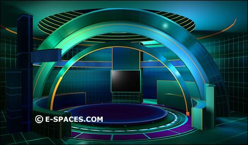 Talk Show Set Design