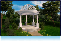 Outdoor Virtual, romantic gazebo