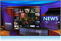 Global News Virtual Set Studio
